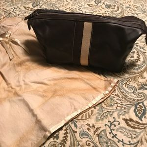 Coach Leather Toiletry Bag